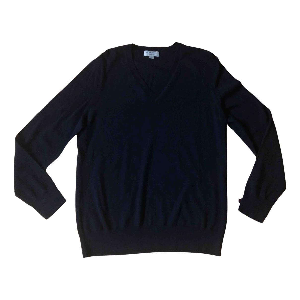 Burberry - Pulls.Gilets.Sweats   pour homme en laine - noir