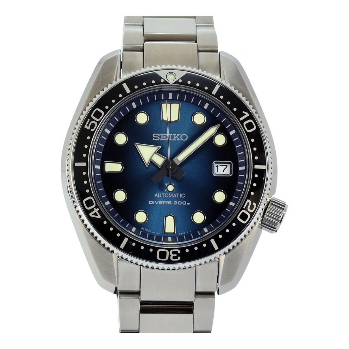 Seiko \N Blue Steel watch for Men \N