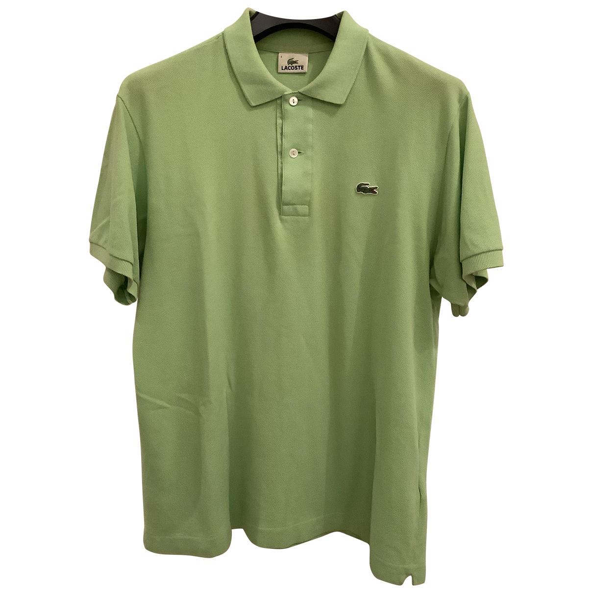Polo en Algodon Verde Lacoste
