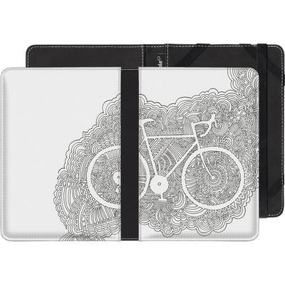 tolino shine 2 HD eBook Reader Huelle - Bike Drawing Meditation von Kaitlyn Parker
