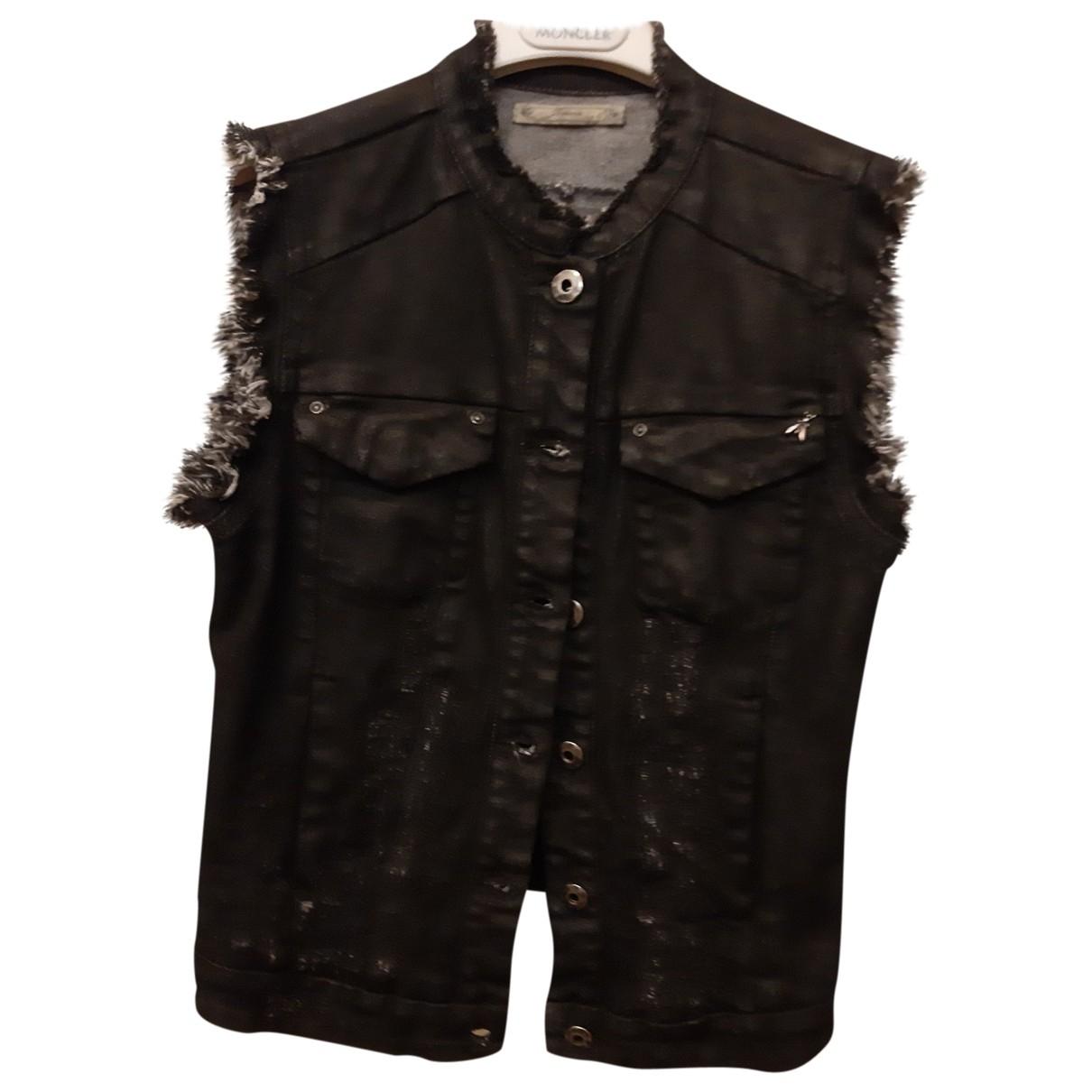Patrizia Pepe \N Black Cotton Knitwear for Women 40 IT
