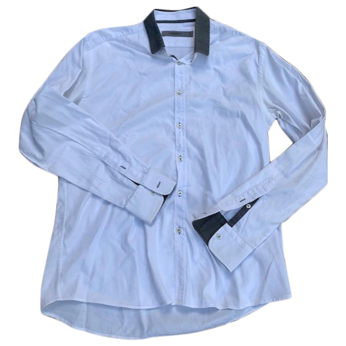 Karl Lagerfeld - Chemises   pour homme en coton - blanc