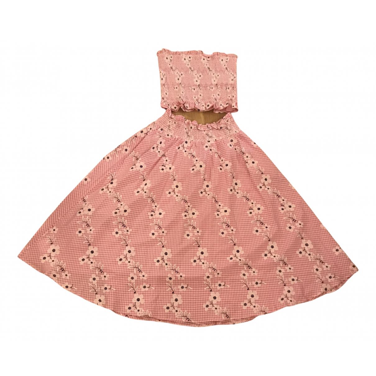 Brigitte Bardot - Jupe   pour femme en coton - elasthane - rose