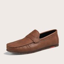 Maenner Minimalistische Loafers