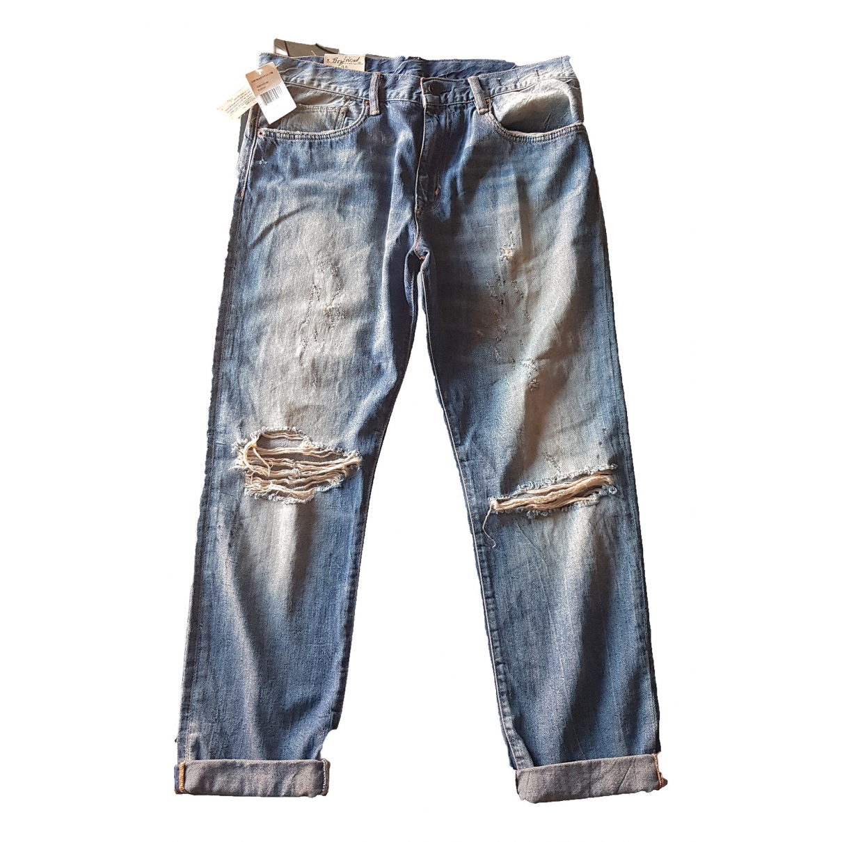 Lauren Ralph Lauren \N Blue Denim - Jeans Jeans for Women 28 US