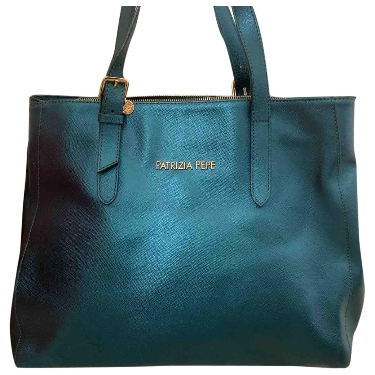 Patrizia Pepe \N Metallic Leather handbag for Women \N