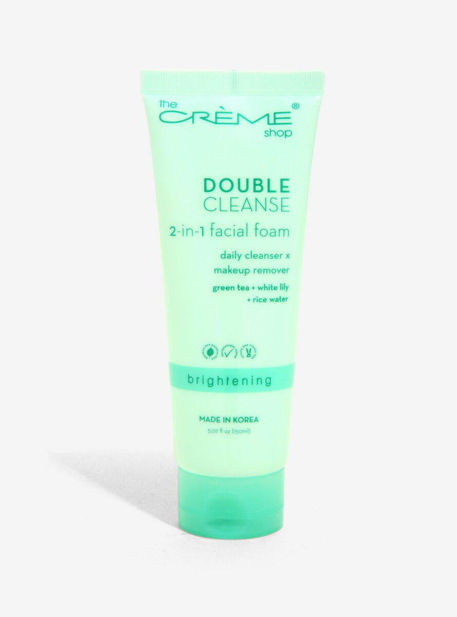 The Creme Shop Double Cleanse 2-In-1 Facial Foam
