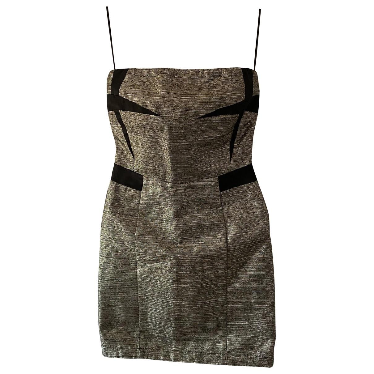 See By Chloe \N Kleid in  Metallic Baumwolle - Elasthan