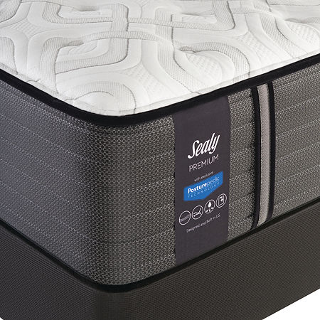 Sealy Faraday Ultra Firm - Mattress + Box Spring, One Size , White