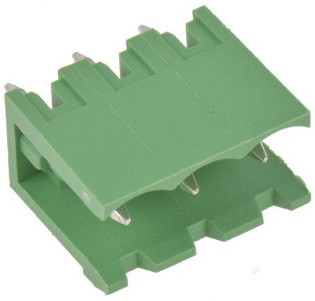 Wurth Elektronik , 311, 3 Way, 1 Row, Straight PCB Header