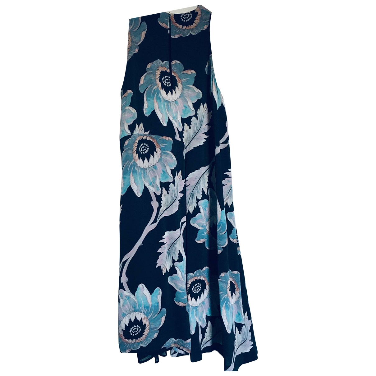 Whistles \N Kleid in  Blau Polyester