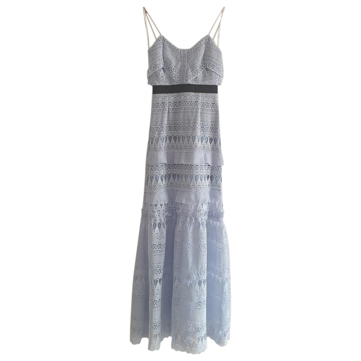 Self Portrait \N Turquoise dress for Women 6 UK