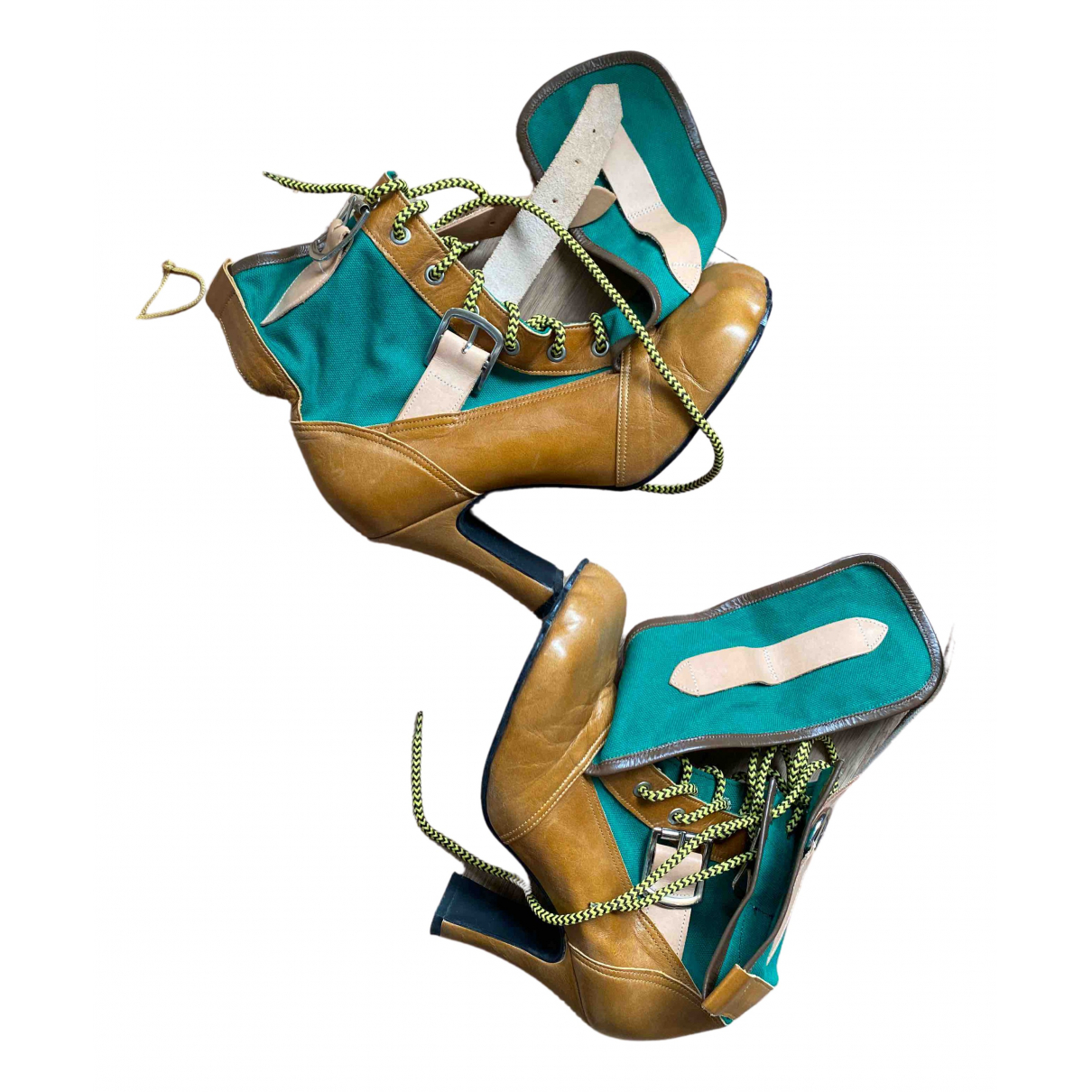 Vivienne Westwood N Multicolour Leather Ankle boots for Women 6 UK