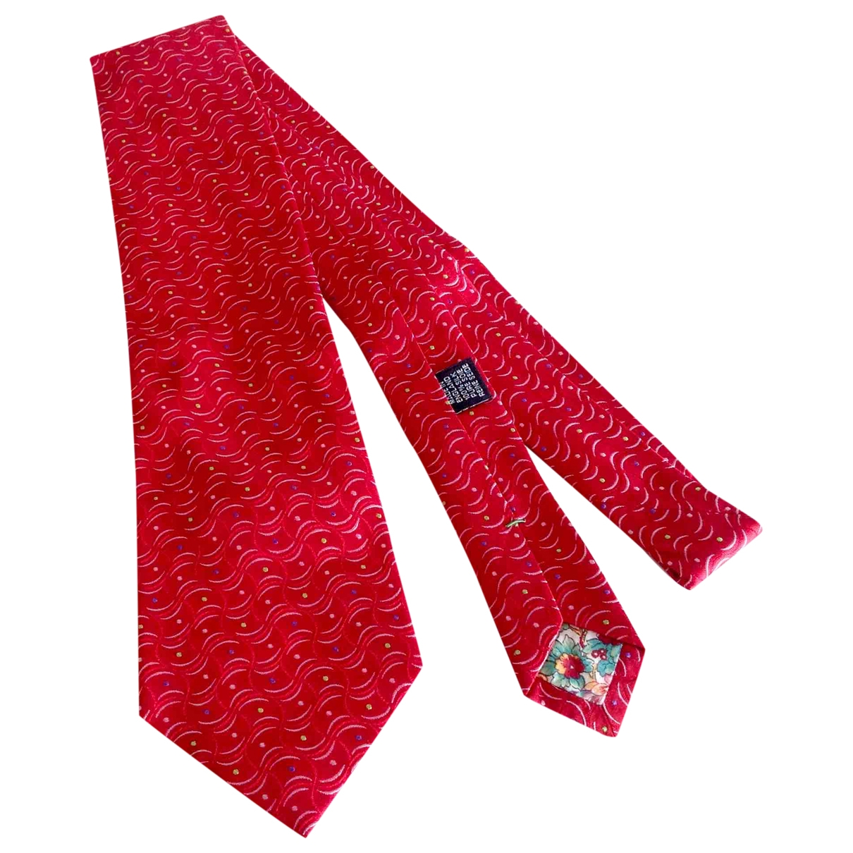 Paul Smith - Cravates   pour homme en soie - rouge
