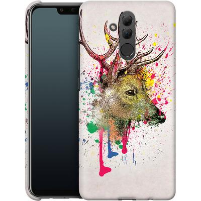 Huawei Mate 20 Lite Smartphone Huelle - Splatter Deer von Mark Ashkenazi