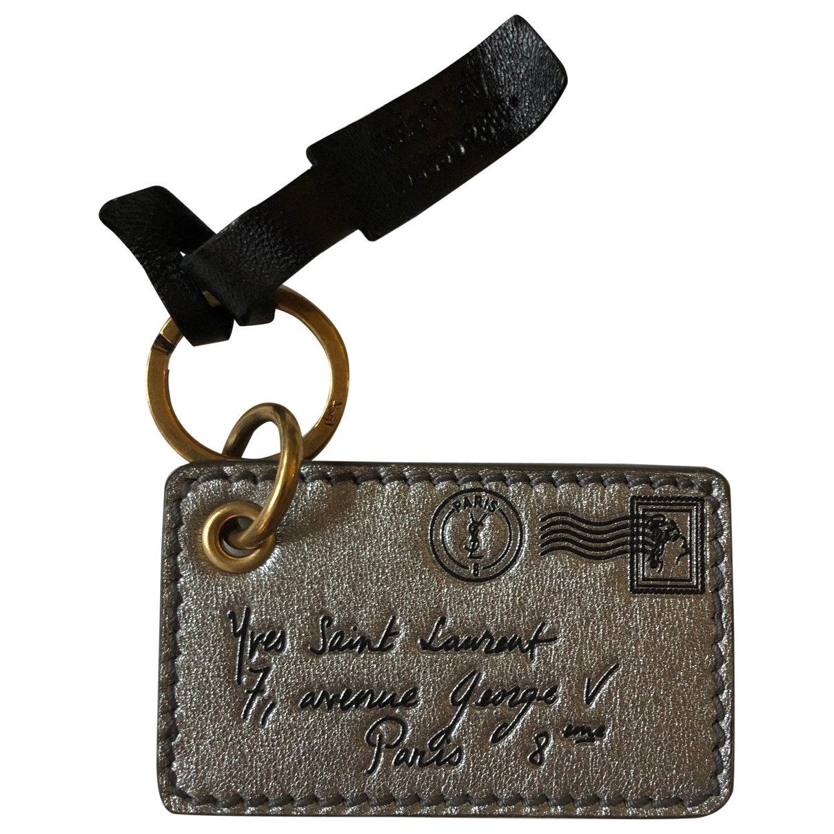 Yves Saint Laurent \N Silver Leather Purses, wallet & cases for Women \N