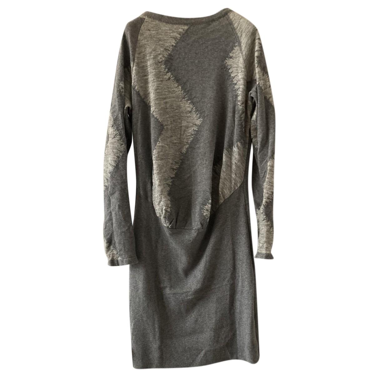 Pringle Of Scotland \N Kleid in  Grau Wolle