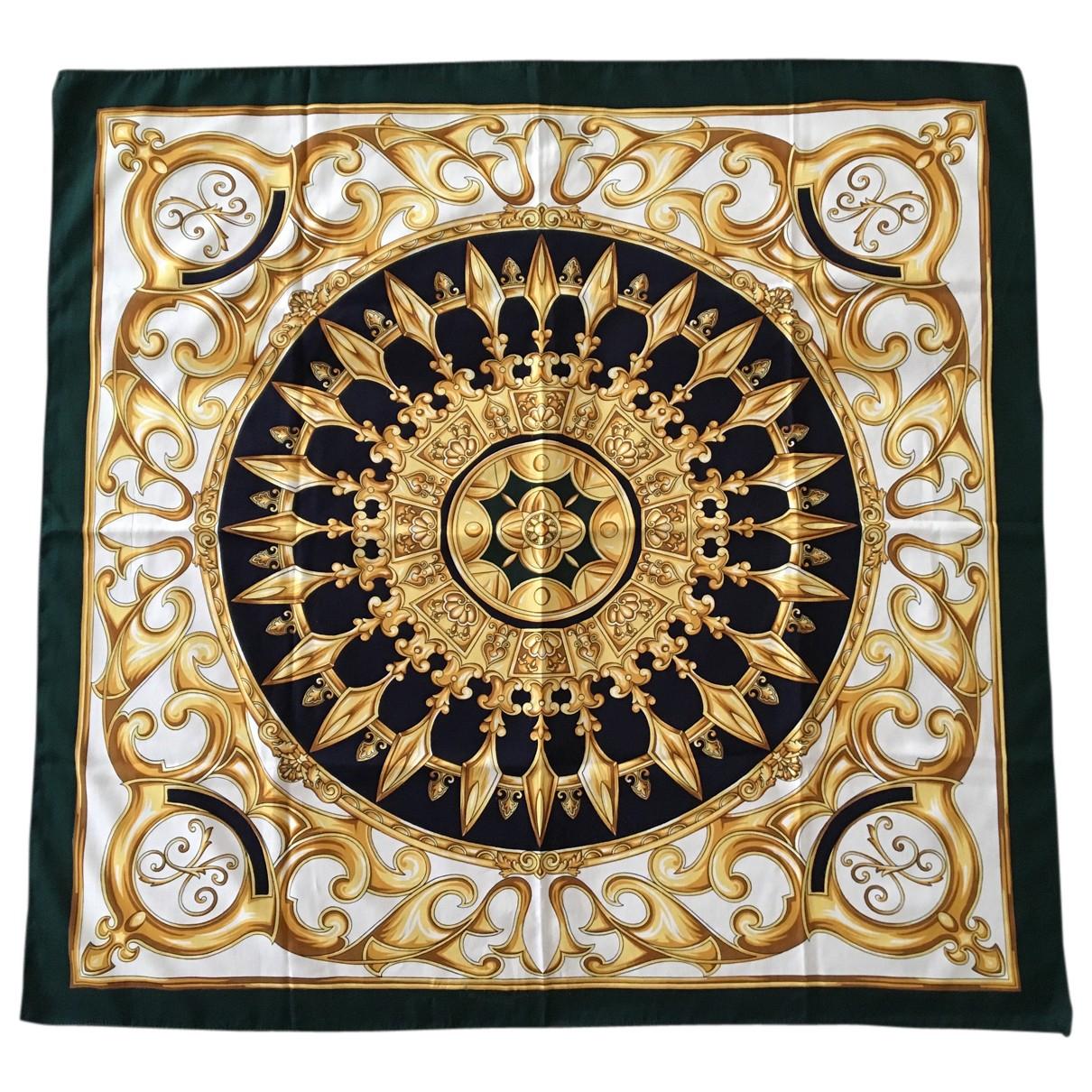 - Foulard   pour femme en soie - blanc