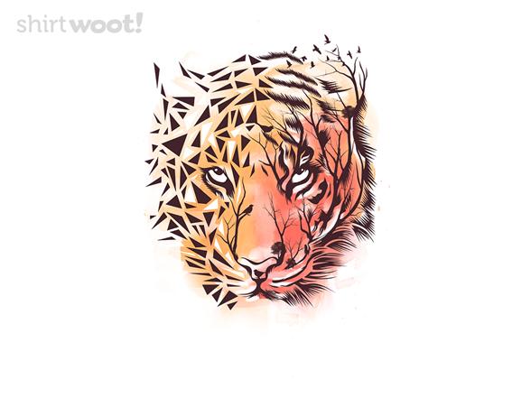 Geometrical Tiger T Shirt
