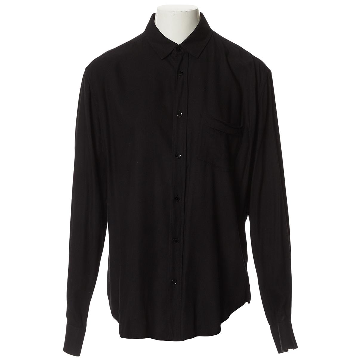 Saint Laurent \N Hemden in  Schwarz Viskose