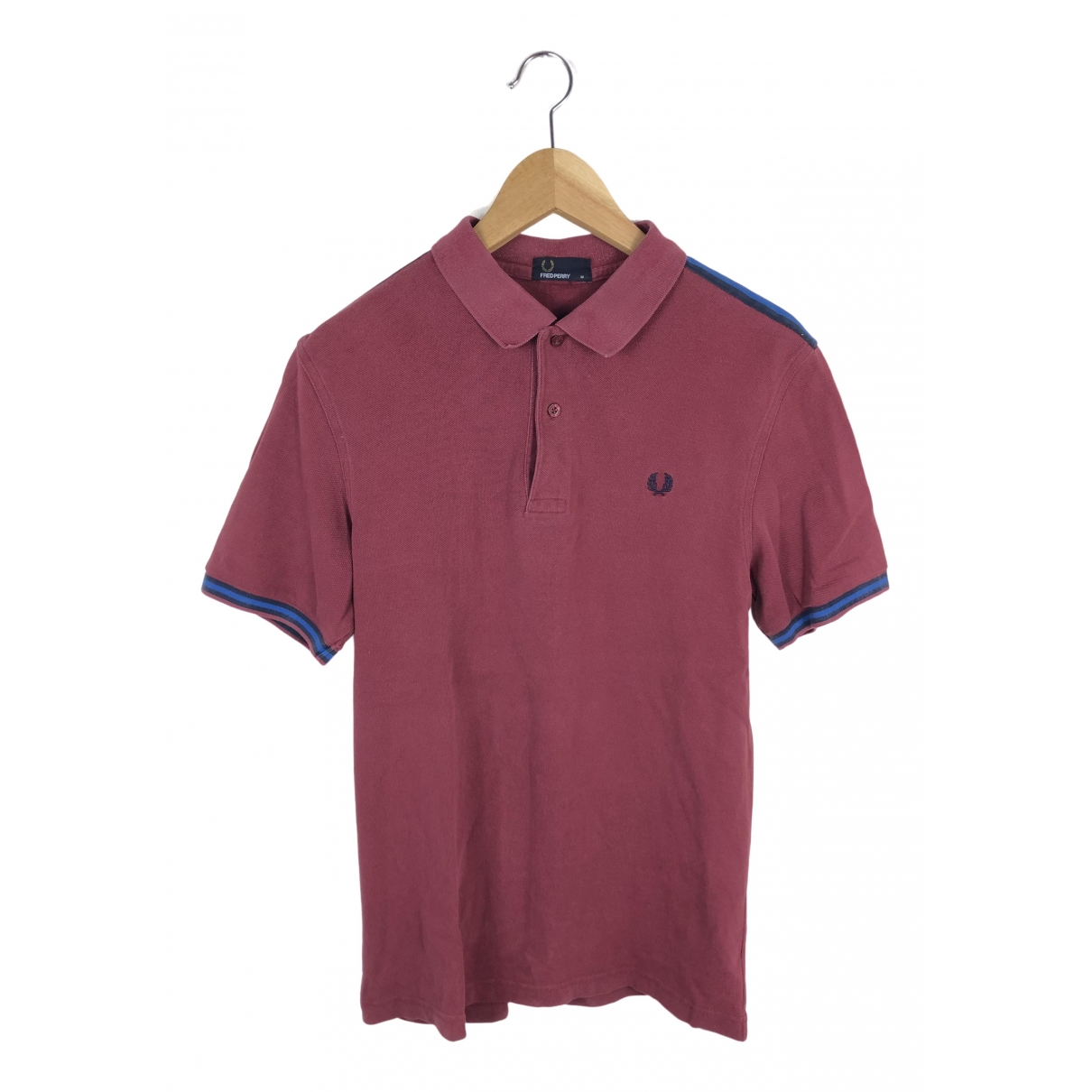 Fred Perry \N Poloshirts in  Bordeauxrot Baumwolle