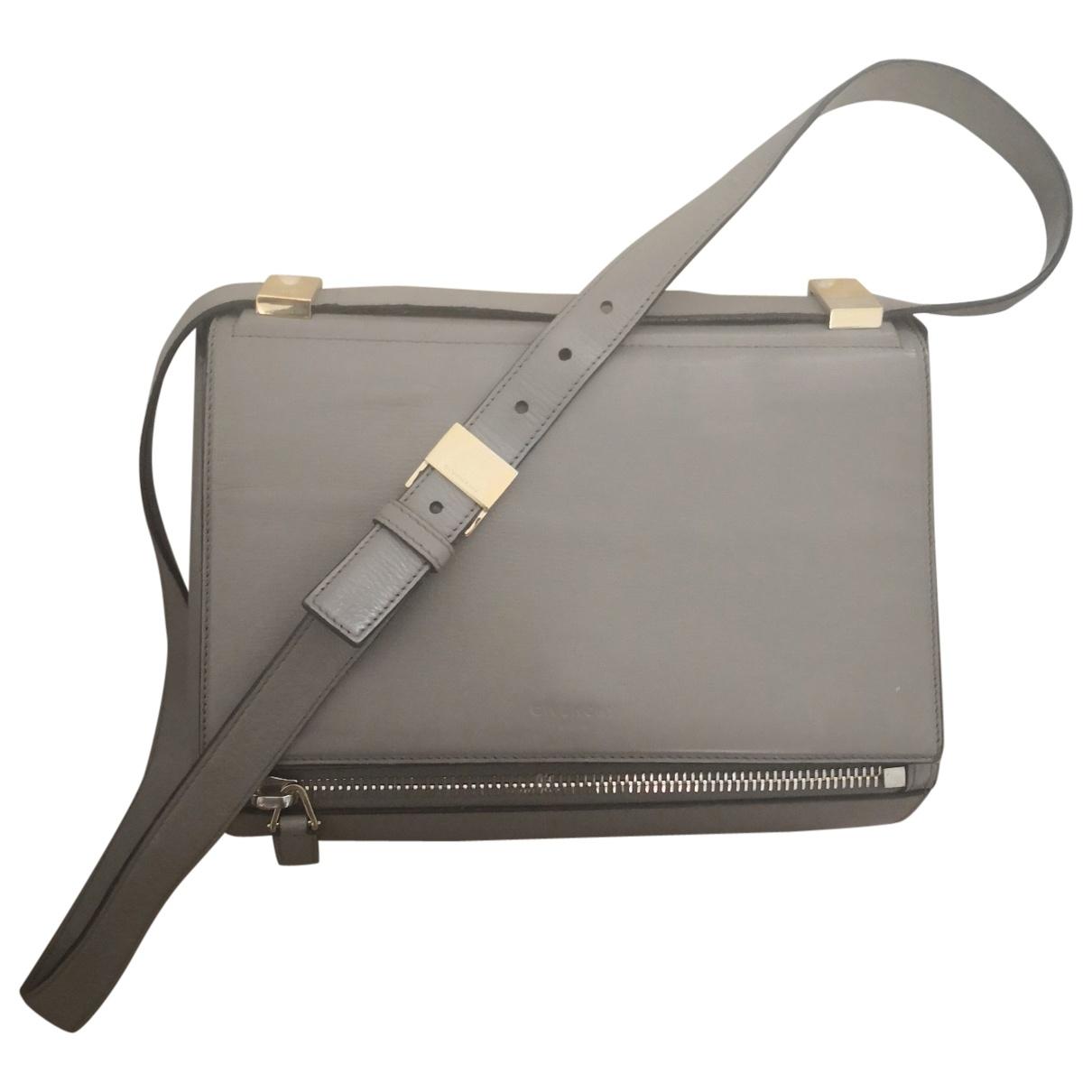 Givenchy Pandora Box Handtasche in  Grau Leder