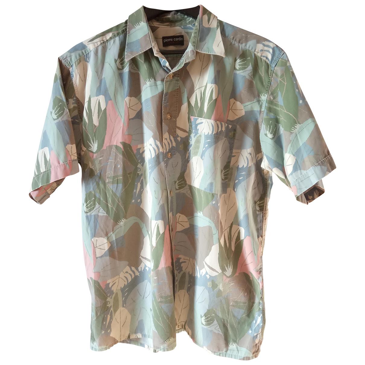 Pierre Cardin - Chemises   pour homme en coton - beige