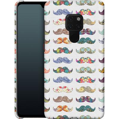 Huawei Mate 20 Smartphone Huelle - Mustache Mania von Bianca Green