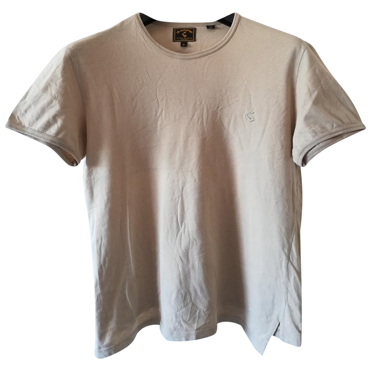 Vivienne Westwood Anglomania - Tee shirts   pour homme en coton - beige