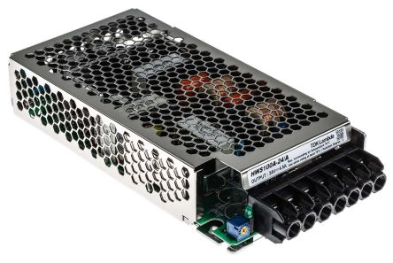 TDK-Lambda , 100W Embedded Switch Mode Power Supply SMPS, 24V dc, Enclosed