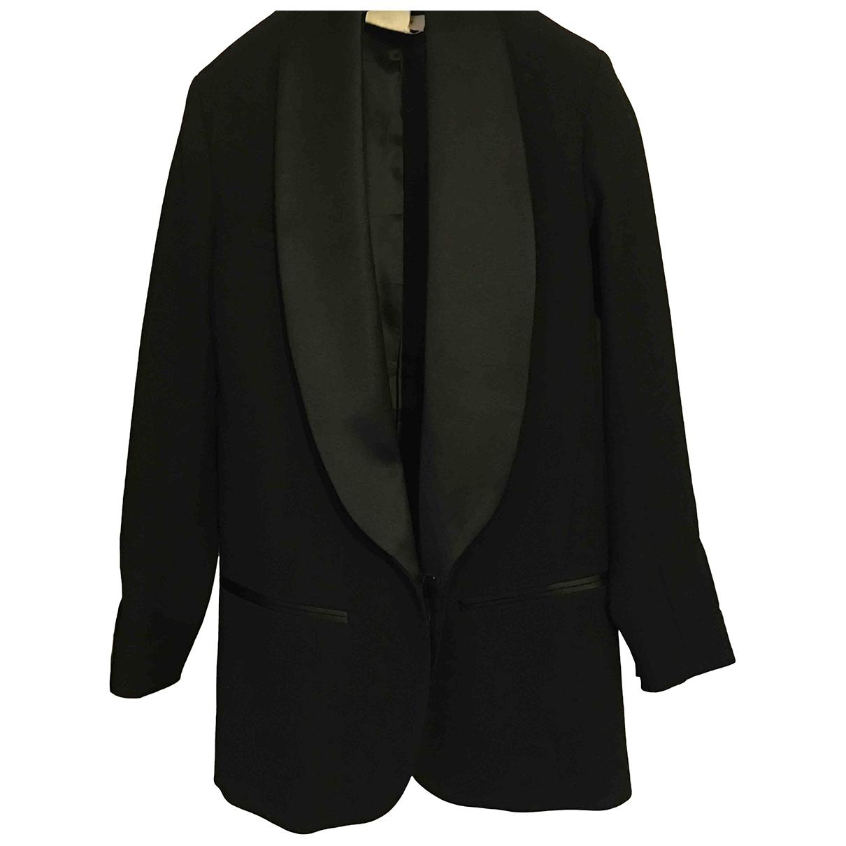 Isabel Marant Pour H&m \N Black Wool jacket for Women 34 FR