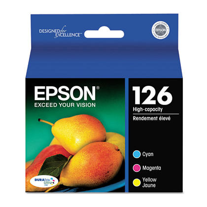 Epson T126520 Original Colour Ink Cartridge Combo High Yield C/M/Y