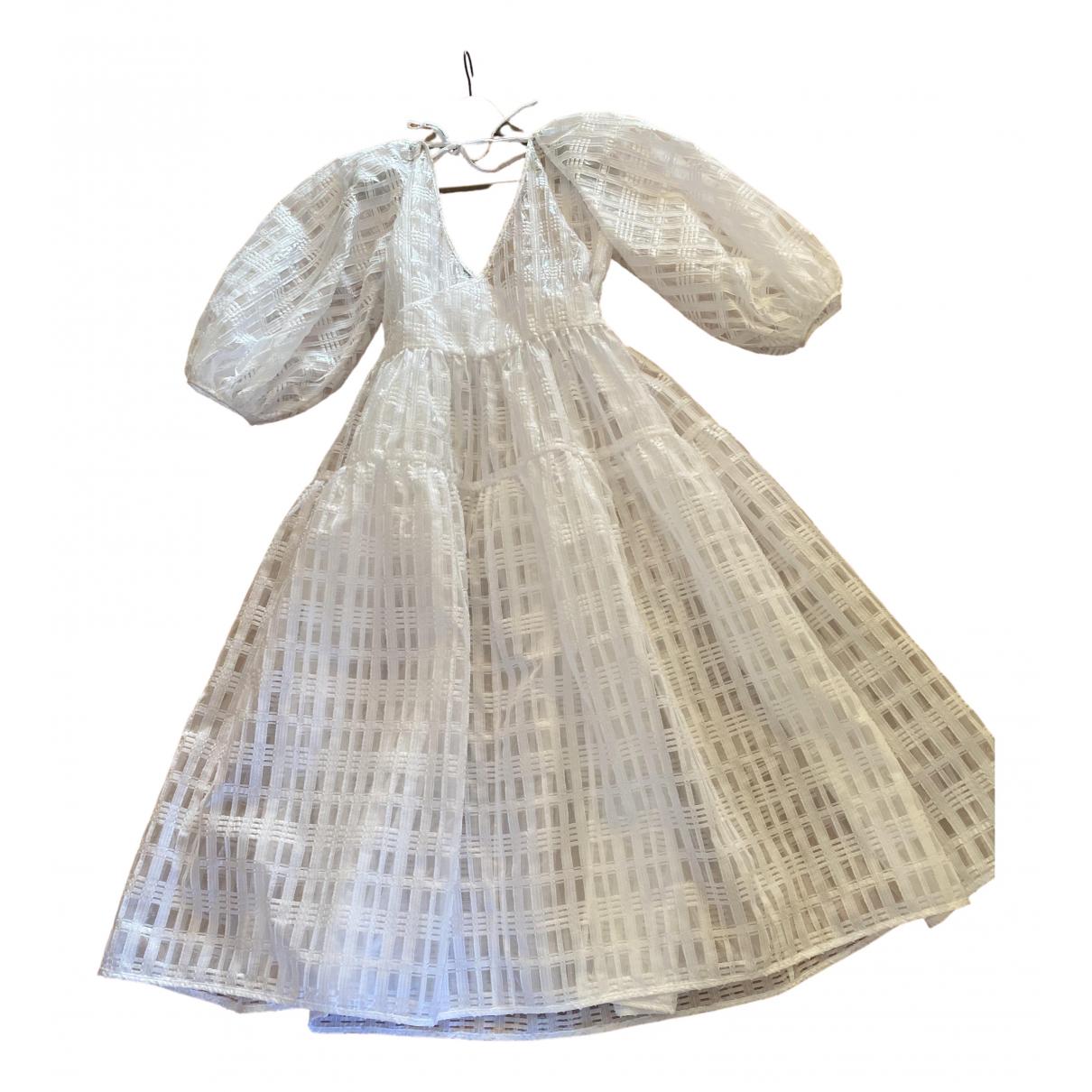 Cecilie Bahnsen - Robe   pour femme en dentelle - blanc