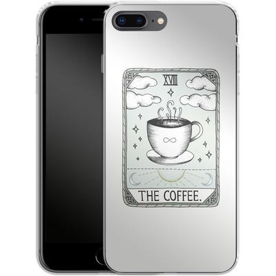 Apple iPhone 8 Plus Silikon Handyhuelle - The Coffee von Barlena