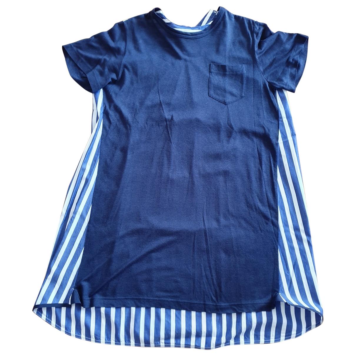 Sacai Luck \N Blue Cotton dress for Women 36 FR