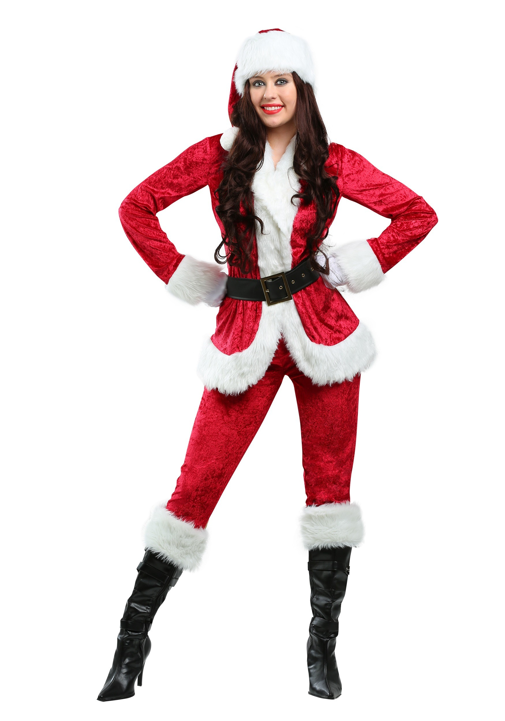 Sweet Plus Size Santa Costume