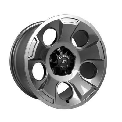 Rugged Ridge Drakon 17x9 Gun Metal Alloy Wheel - 15302.3Rugged Ridge Drakon 17x9 Gun Metal Alloy Wheel - 15302.30