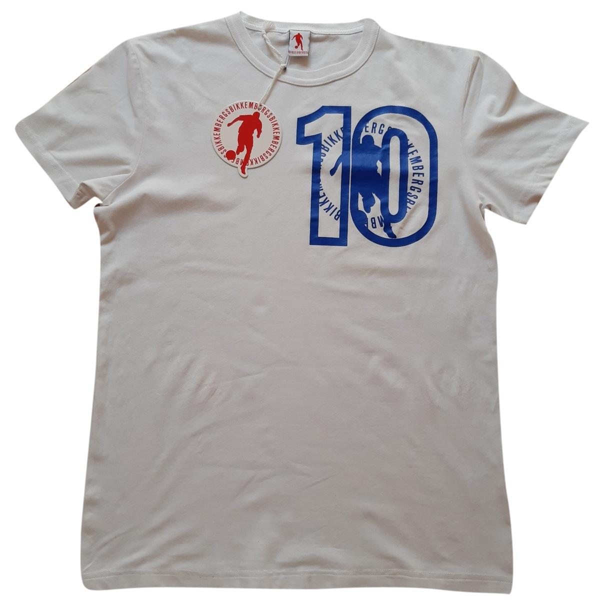 Dirk Bikkembergs \N White Cotton T-shirts for Men M International