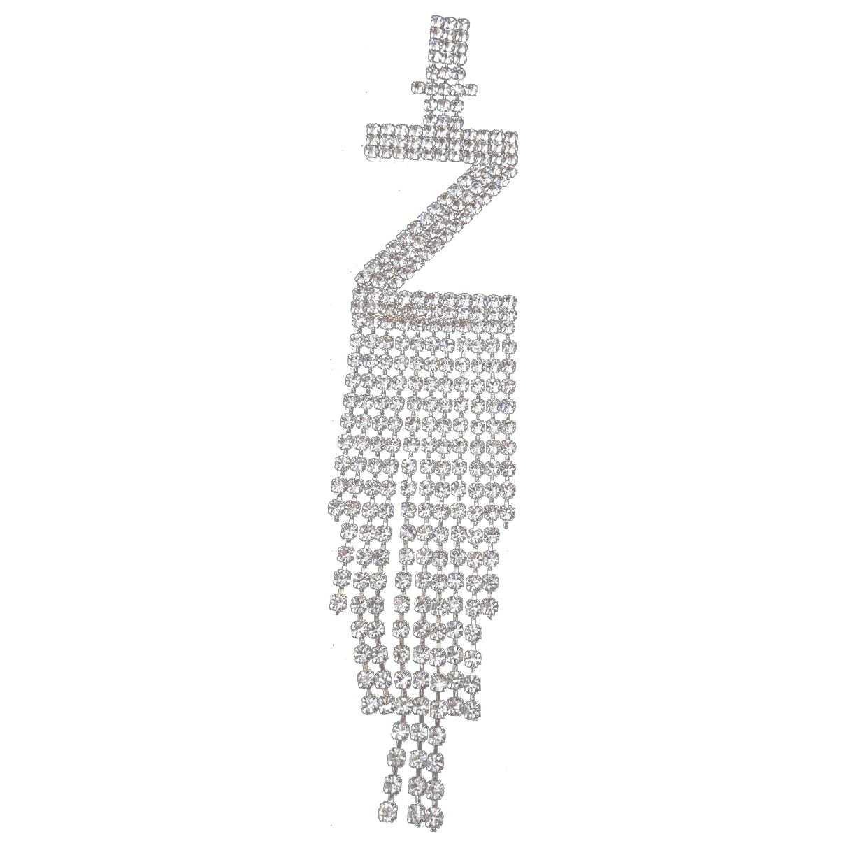 Retrofete - Boucles doreilles   pour femme en metal - argente
