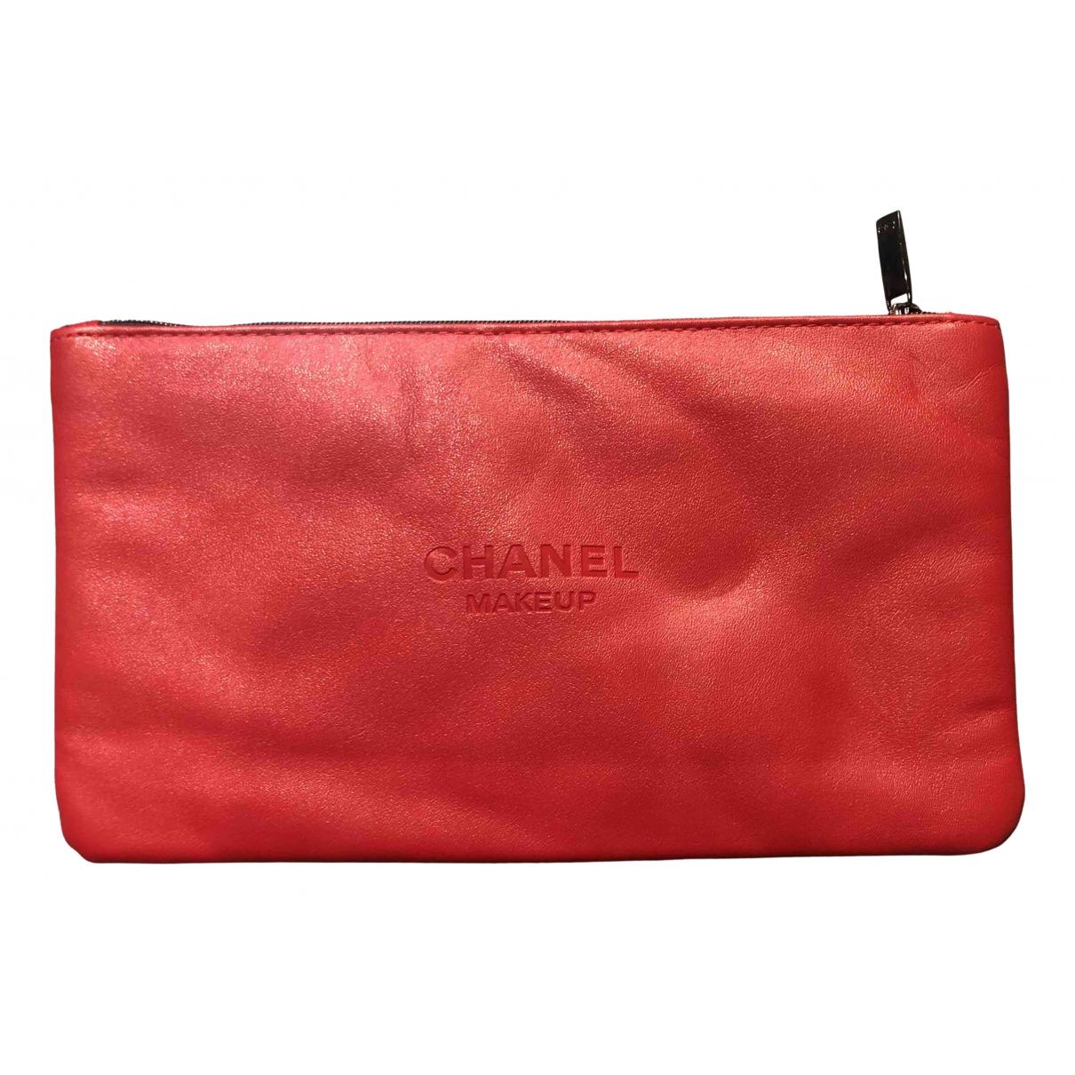 Bolsos clutch en Sintetico Rojo Chanel