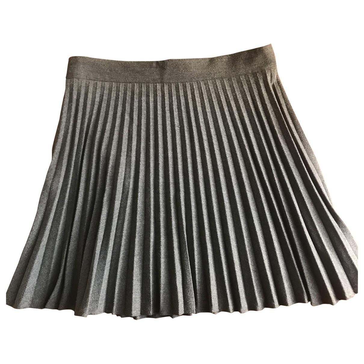 Comptoir Des Cotonniers - Jupe   pour femme en laine - gris