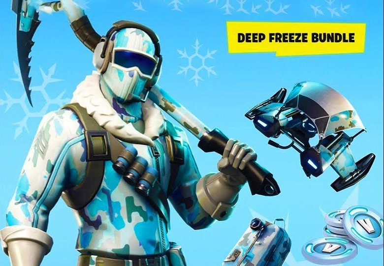 Fortnite Deep Freeze Bundle EU PS4 CD Key
