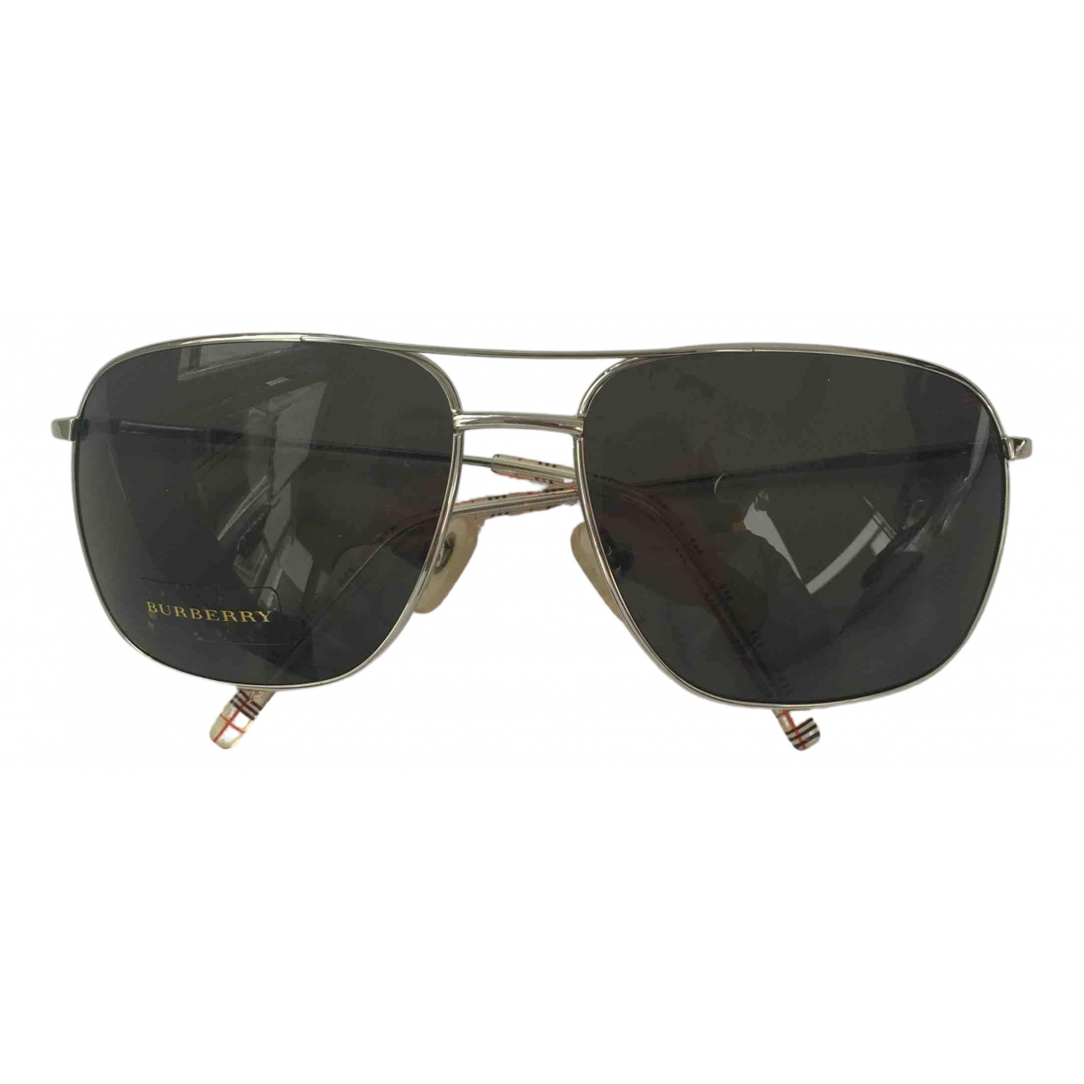 Burberry N Black Metal Sunglasses for Men N