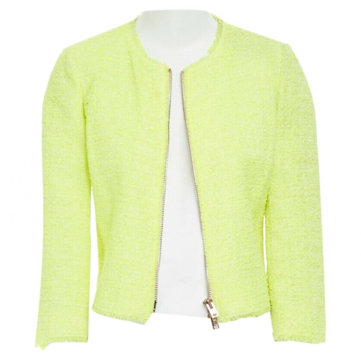 Giambattista Valli \N Yellow Cotton jacket for Women XS International