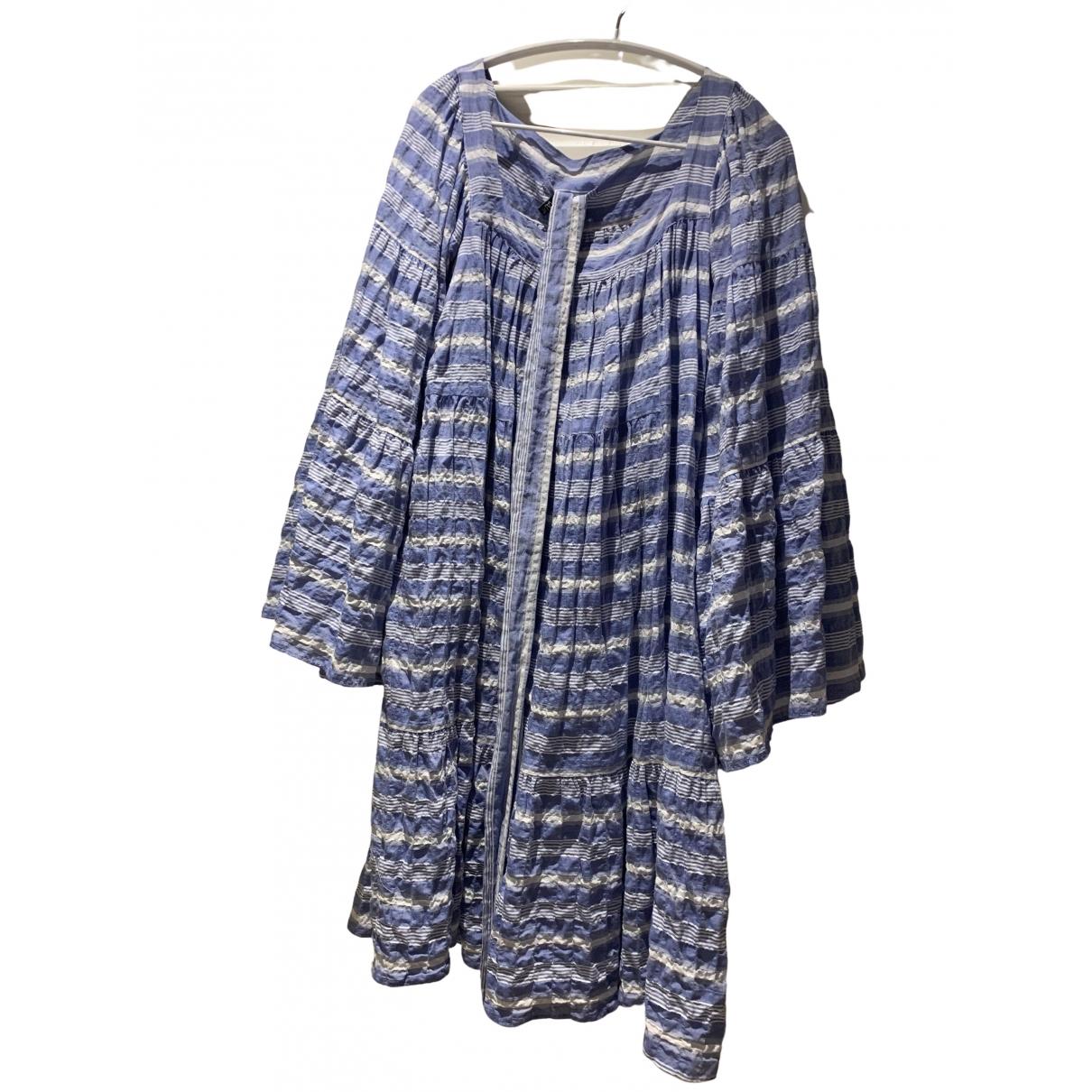 Lisa Marie Fernandez \N Kleid in  Blau Baumwolle