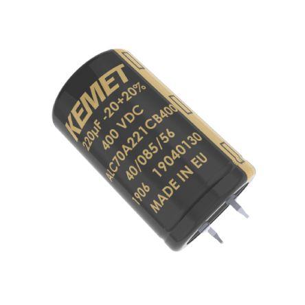KEMET 47000μF Electrolytic Capacitor 40V dc, Snap-In - ALC80A473EL040 (36)