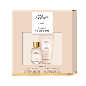 s.Oliver Follow Your Soul Women Gift set Eau de Toilette Spray 30 ml + Bath & Shower Gel 75 ml 1 Stk.
