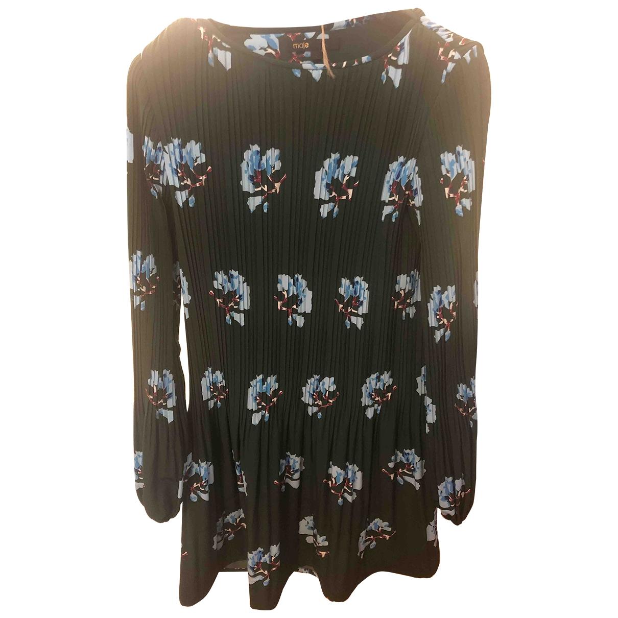 Maje \N Kleid in  Gruen Polyester