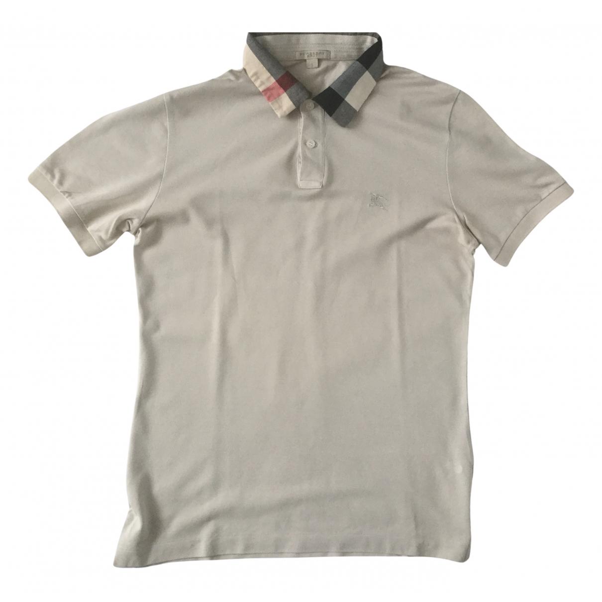 Burberry \N Poloshirts in  Beige Baumwolle