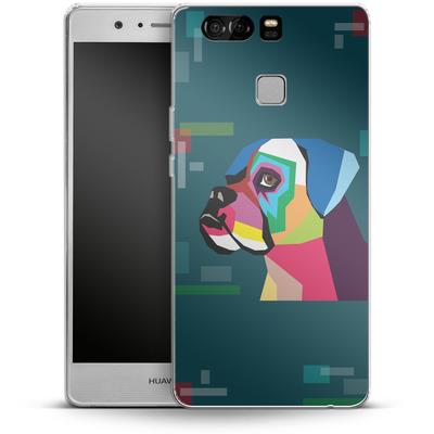 Huawei P9 Silikon Handyhuelle - Pop Dog von Mark Ashkenazi
